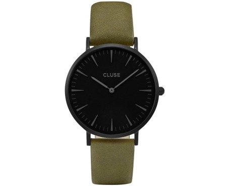 Cluse La Bohème Full Black/Olive Green CL18502