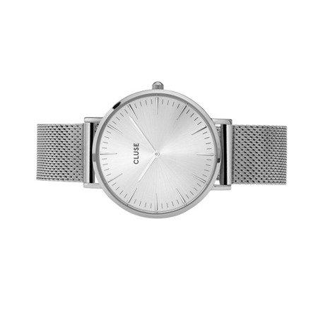 Zegarek damski Cluse La Bohème Mesh Full Silver CL18114
