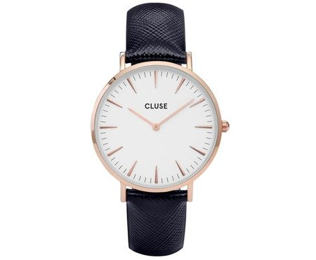 Cluse La Bohème Rose Gold White/Midnight Blue CL18029