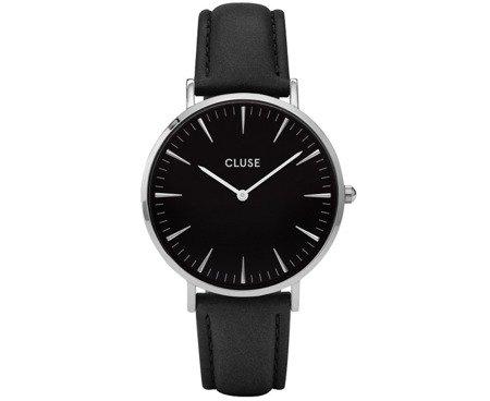 Zegarek damski Cluse La Bohème Silver Black/Black CL18201