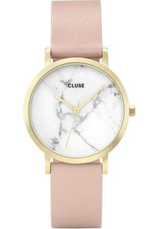 Cluse La Roche Petite Gold White Marble/Nude CL40101