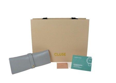 Cluse La Roche Petite Rose Gold White Marble/ Nude CL40109