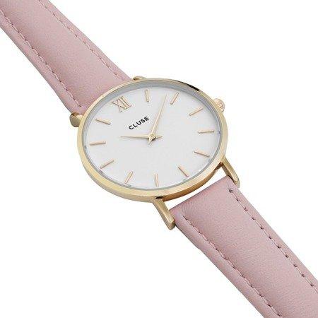 Zegarek damski Cluse Minuit Gold White/Pink CL30020