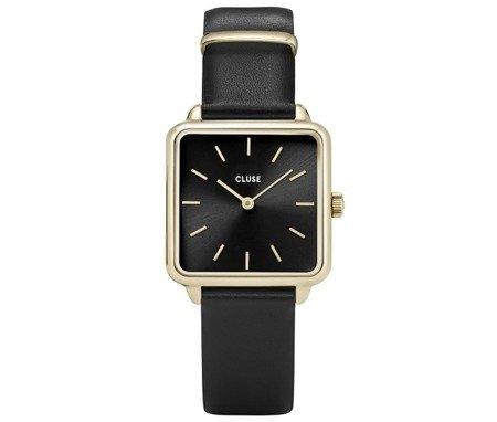Zegarek damski CLUSE La Tétragone Gold Black CL60008