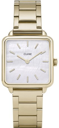 Zegarek damski Cluse CL60026S  Single Link Rose Gold/White